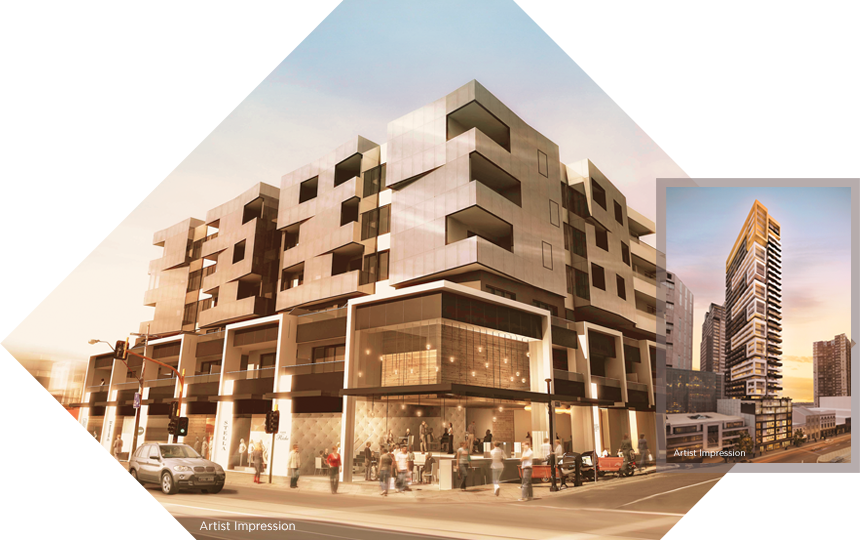 melbourne residential developments