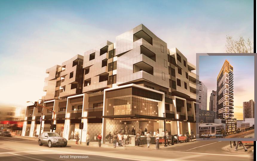 melbourne residential developments